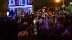 Hundreds of people continued to protest for a second night in Philadelphia over the death of a Black man killed by police officers.