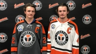 Kaeden will be serving as captain while on the road, while Keenan will be filling the duties while on home ice. (CTV News)