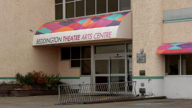 Thieves made their way into the Storybook Theatre's main stage area around 4 a.m. Monday on Bermuda Drive N.W. and stole items.