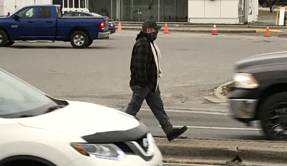 A Manitoulin Island woman says she is filing a complaint against the Greater Sudbury Police Service after being ticketed for distracted driving last week by a plainclothes officer at the corner of Lasalle Boulevard and Barrydowne Road. (Photo from Greater Sudbury Police Twitter)