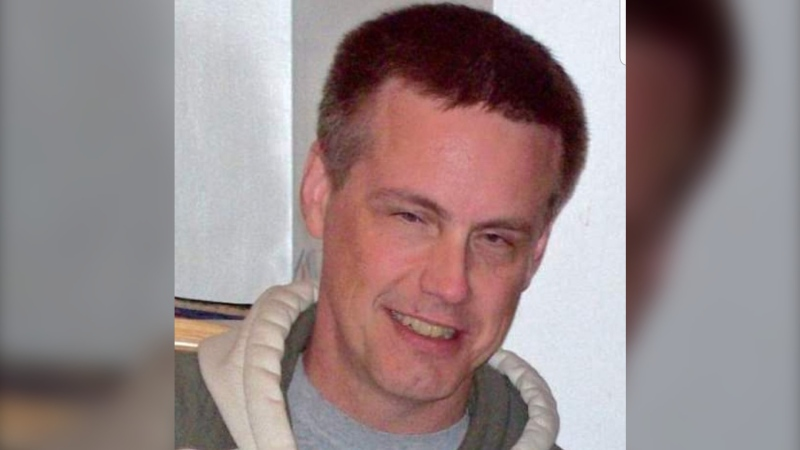 An undated photo sent to CTV News by a friend of Doug Wanke shows the Vancouver homicide victim.