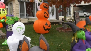 The City of Calgary says safety should always be top of mind when it comes to trick-or-treating but additional safety measures should be taken during the pandemic (file)