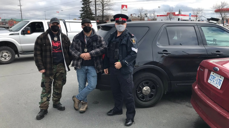 Sudbury police during distracted driving blitz
