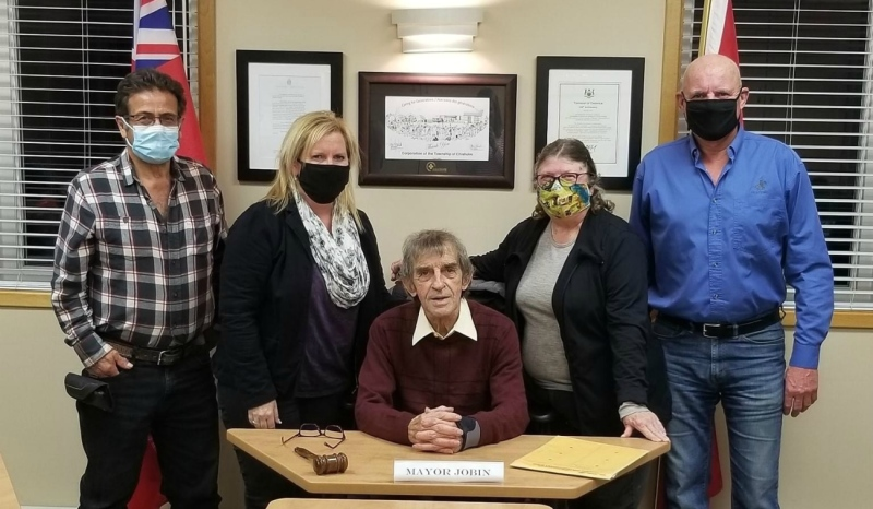 Leo Jobin, mayor of the Township of Chisholm, is resigning, the community said in a news release Wednesday. (Supplied)