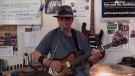 Seventy-two year old Dan Lalonde from Sudbury is a one-man band as he does his song, '67 Chevy.'
