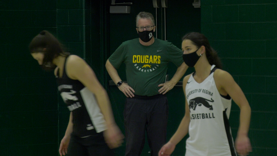 The Cougars Women's basketball team says they couldn't have asked for a better year for COVID-19 to hamper most activities. (CTV News)