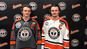 Yorkton Terriers twins share captain role
