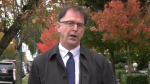 Adrian Dix speaks to CTV News about speculation that provincial health officer Dr. Bonnie Henry's latest order was delayed by Saturday's B.C. election.