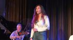 "Soprano Lara Secord-Haid rehearsing for Pacific Opera Victoria's ""Live at the Baumann."""