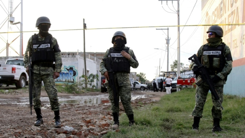 Guanajuato is one of Mexico's most violent states, with its wealth and extensive energy infrastructure drawing the attention of criminal gangs. (AFP)