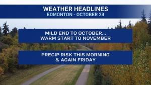 Oct. 29 weather