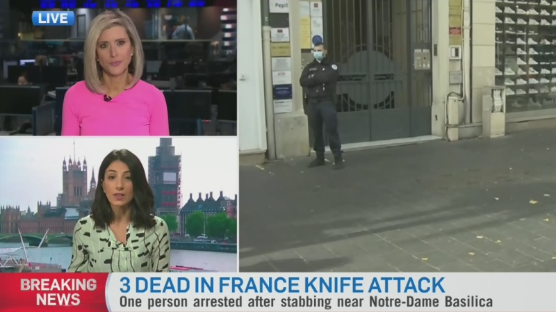 Suspect arrested in France attack