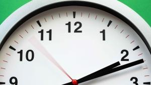 2020 Daylight savings time change