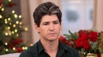 "In this photo, Michael Fishman visits Hallmark Channel's ""Home & Family"" in 2019 in California. (Paul Archuleta/Getty Images)"