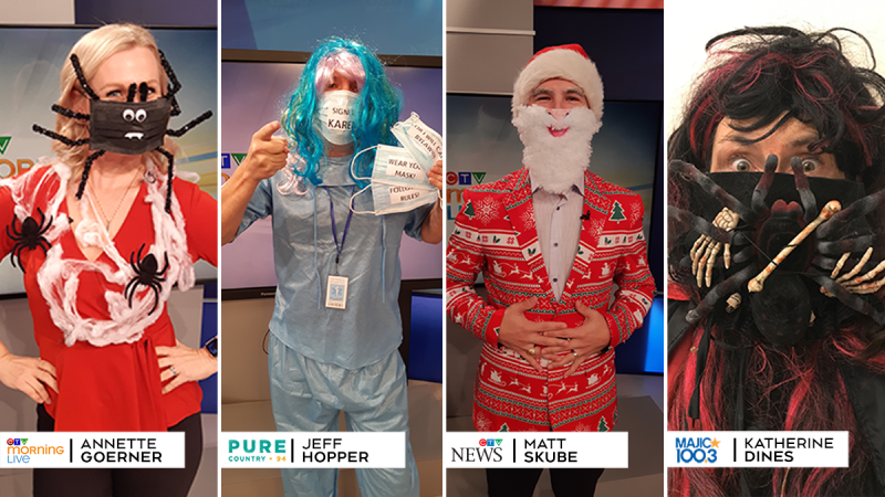 CTV Morning Live 'Monster Mask' Contest