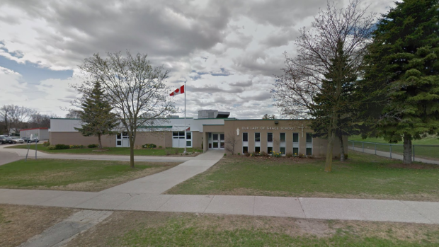Our Lady of Grace Catholic Elementary School seen in this street view photo from Google Maps.