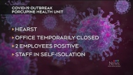 COVID-19 outbreak at Porcupine Health Unit office