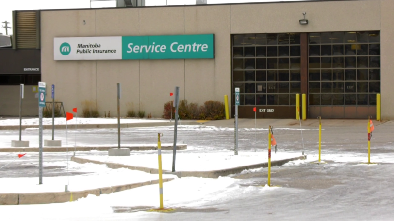 A COVID-19 testing site will open at the MPI building on King Edward Street on Oct. 31. (CTV News Photo Glenn Pismenny)