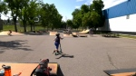 The city is selling five mobile skate parks.