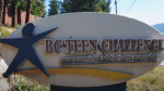 A sign at the Okanagan Men's Centre is seen in this still from a video on the facility's YouTube channel.
