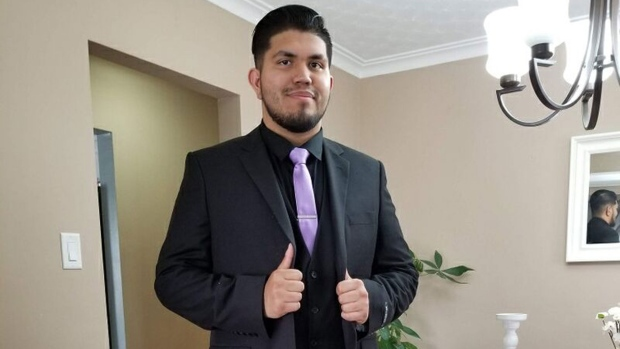 Jonathan Rodriguez-Sanchez, 19, is seen in this photograph. (Toronto Police Service)