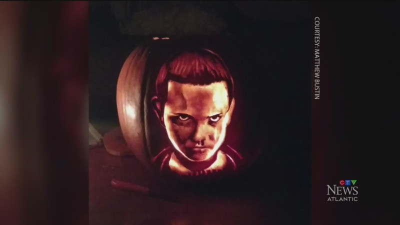 N.S. man creates pop culture pumpkins