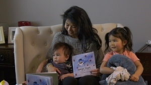 "Family physician, mother and Dr. Mom blogger Dr. Stephanie Liu wrote ""Georgie the Shark and COVID-19"" to help explain the pandemic to her three-year-old daughter."