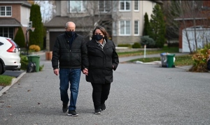 Steve Pino and his wife Rosa share the story of Steve's three heart surgeries at the University of Ottawa Heart Institute. (Joel Haslam/CTV News Ottawa)