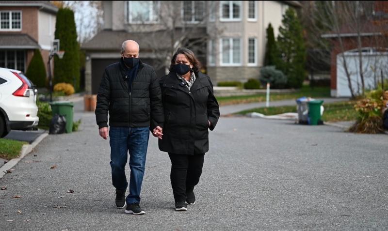 Steve Pino and his wife Rosa share the story of Steve's three heart surgeries at the University of Ottawa Heart Institute. (Joel Haslam/CTV News Ottawa)