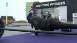 Gyms take protest outside