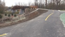 Gap in the Thames Valley Parkway to be filled this weekend (Daryl Newcombe / CTV News)