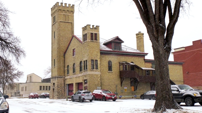 The old St. Boniface fire hall (pictured) has sat vacant for nearly two decades, and now the city wants to find a developer to revitalize it. (Source: Glenn Pismenny/ CTV News Winnipeg)