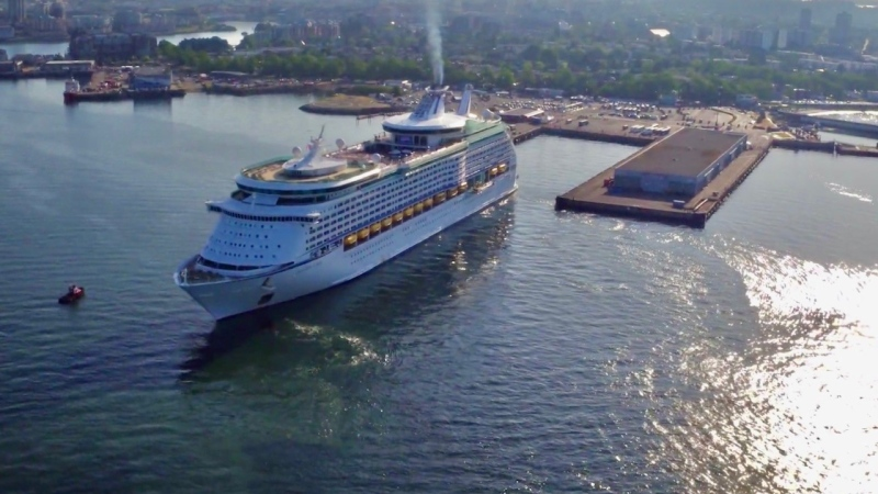 GVHA CEO Ian Robertson says the harbour authority is still hopeful that a cruise ship season will return in 2021: (CTV News)