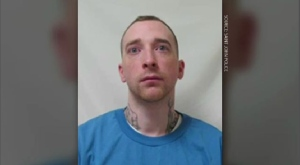 James Halleran is serving an eight-year sentence for charges that include aggravated assault and discharge of a firearm with intent. (SAINT JOHN POLICE)