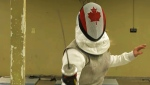 Canadian fencer Alanna Goldie took up the sport when she was eight