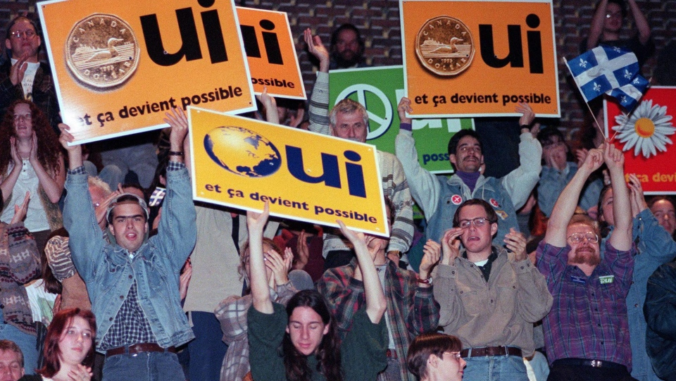 Quebec referendum 1995