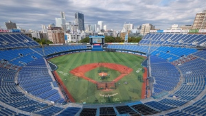 Yokohama Stadium will host baseball and softball games at the Tokyo Olympics, now set to open on July 23, 2021. (AFP)