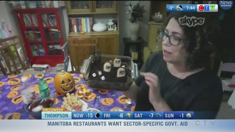"""Spooky' dishes made for yummy Halloween eating"