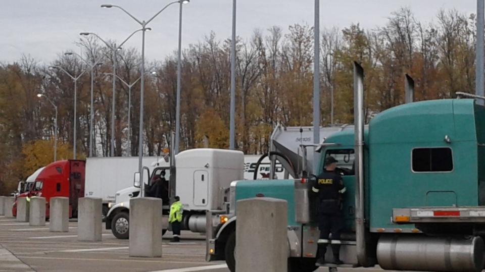 OPP truck inspection