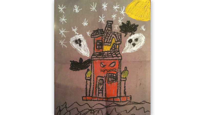 Anna Becksted, 8 years old, Grade 4, Westwind Public School