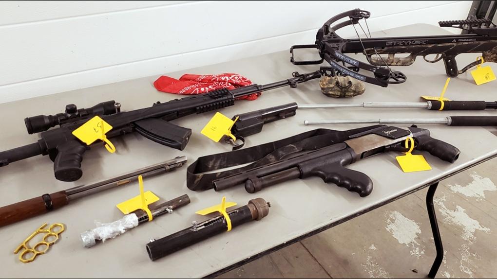 Coaldale, Ethan Wiebe, firearms