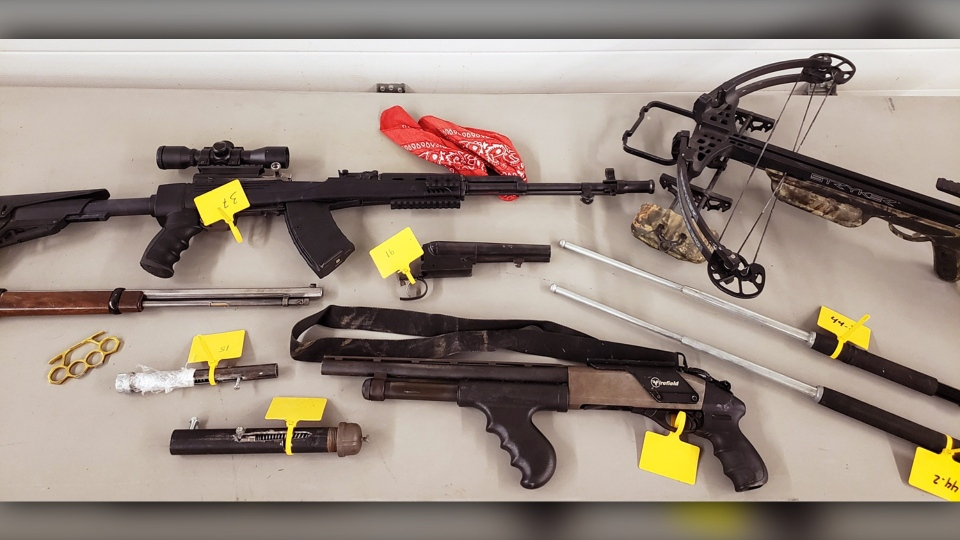 Ethan Wiebe, 20, faces charges following the seizure of homemade firearms and stolen weapons in Coaldale, Alta. on Oct. 15 (ALERT)