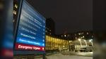 St. Boniface Hospital in Winnipeg is pictured on October 29, 2020. (CTV News Photo Josh Crabb)