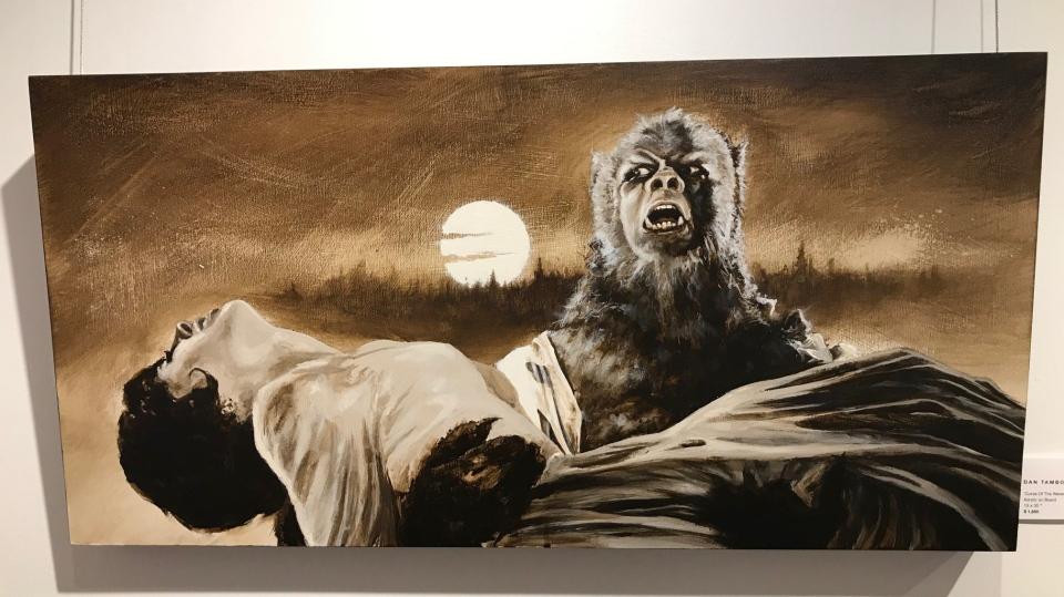 'Curse of the werewolf'