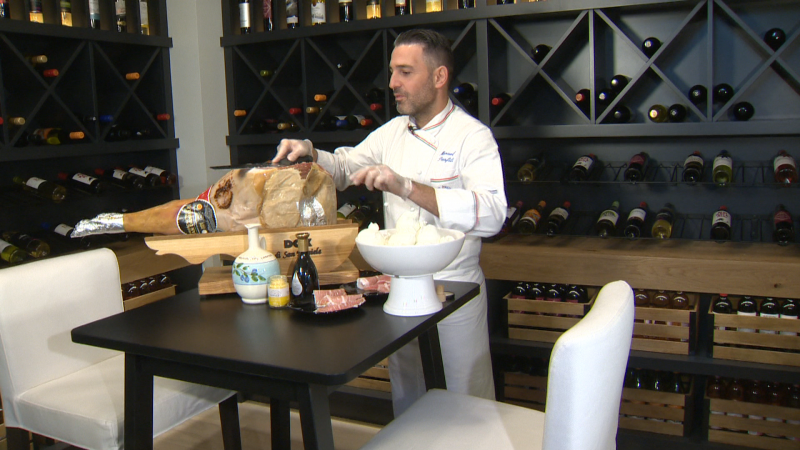 Lina's Market and Chef Manuel cook up Italian dishes In the Essence Show Home from Calbridge Homes