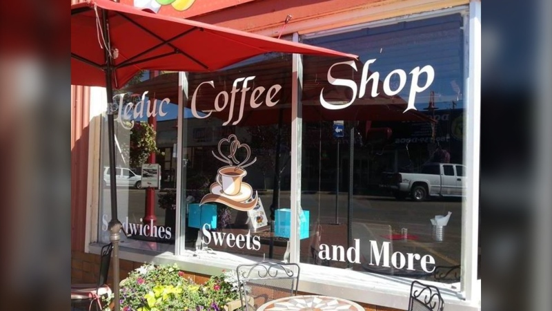 Leduc Coffee Shop in Leduc, Alta. (Source: Facebook/Leduc Coffee Shop)