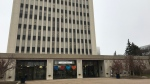 Regina City Hall is seen in this photo, taken Oct. 30, 2020. (Cally Stephanow/CTV News)