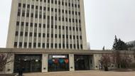 Regina City Hall is seen in this photo, taken Oct. 30, 2020. (Cally Stephanow/CTV News)
