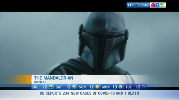 Movie reviews, the Mandalorian