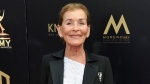 "Judge Judy Sheindlin arrives at the 46th annual Daytime Emmy Awards in Pasadena, Calif., on May 5, 2019. Sheindlin, whose long-running syndicated courtroom show ""Judge Judy"" will end production in 2021, will be dispensing justice on an exclusive show in the U.S. for IMDb TV. (Photo by Richard Shotwell/Invision/AP, File)"